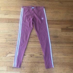 Size small Pink Adidas leggings